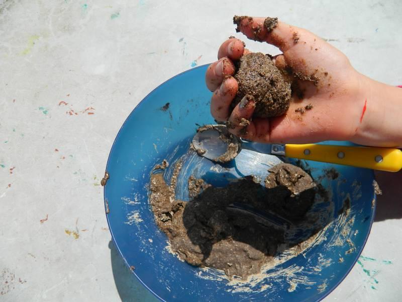 Fabrication d'oeufs de dinsosaures