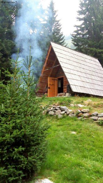 Chalet à la montagne, Bosnie