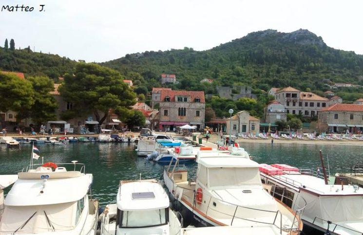 Port de Lopud, Croatie