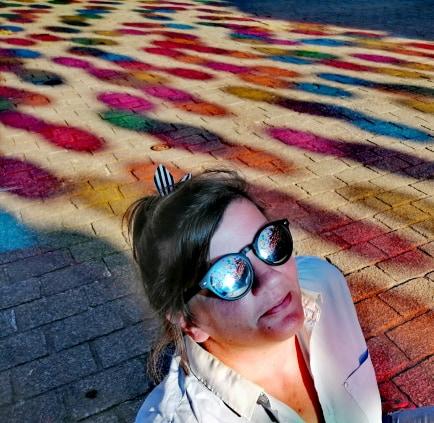 Reflets du ciel de ballon, Anne-Claire blogueuse familles