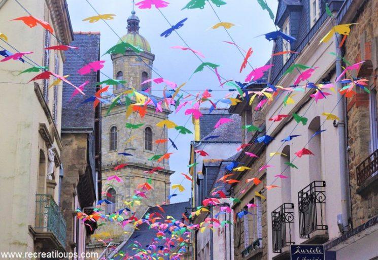 Rue du Lait à Auray