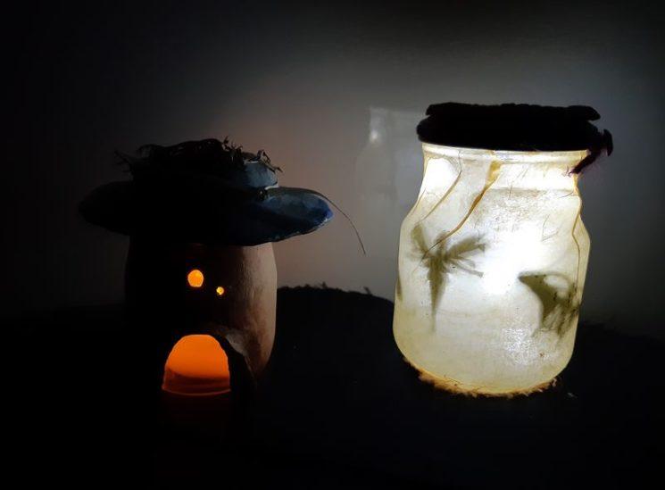Lampe luciole et photophore
